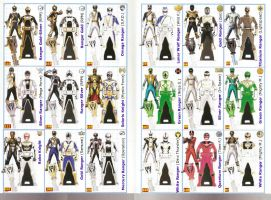 Power Rangers SUPER Megaforce Keys - Sixth by LavenderRanger
