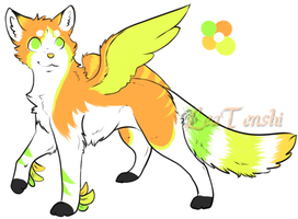 CLOSED - AUCTION - Feline Adoptable 117 by LeaAdoptables
