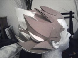 Super Saiyan Vegeta wig_1 by OtakuKawaii86