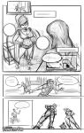 Down in Mexico 3 - Work in progress by giantess-fan-comics