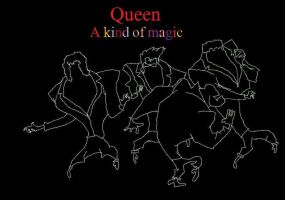 Queen - A Kind Of Magic by DarkFlame11