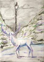 The White Stag of Narnia by Furaha