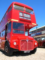Red London Bus - Baker Street by dogtemple