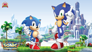 Sonic Generations Wallpaper by Casval-Lem-Daikun