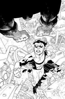 Invincible 61 cover by RyanOttley