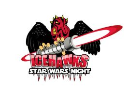 Icehawks Star Wars Night by theCrow65
