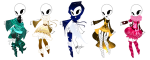 SP Outfit Adopts (1/5 OPEN) by ImaginationTrap