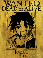 WANTED DEAD OR ALIVE by GalletoconK