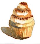 Tiramisu Cupcake by HauntedHouse667