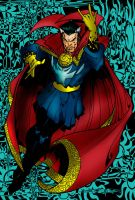 Doctor Strange Colored by zulu94