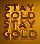 Stay Gold by Outlawsarankan
