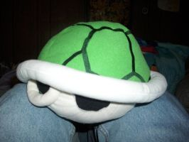Koopa Troopa Shell Plush by Phycosmiley