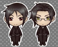 These Butlers: Squishable by xiaoyugaara
