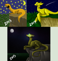 Redraw Meme - Cliff Dragon by Dragon-Wolf-Lover
