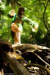 Earthbender,in the forest by hiddentalent1
