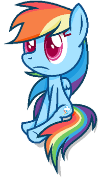 Sonic and Mlp herose Rainbow Dash (New Style) by Nsmah