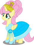 Princess Fluttershy by Canterlotian
