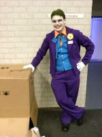 The Joker and The box by JosephJKerr