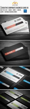 Creative Corporate Business Card 28 by EgYpToS