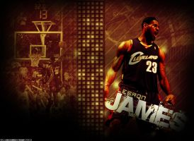 """LeBron James """"Beast"""" by ryancurrie"""