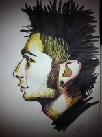 profile mohawke sketch by j0epep