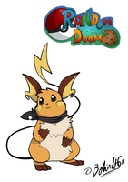 RD - Ross the Raichu by TamarinFrog