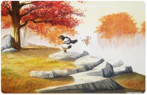 Kung Fu Panda Watercolor by samesjc