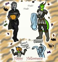 The Grand Halloween Trade by kayly101