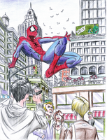 Ultimate Spider Man by boboieh