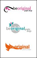 Be Original logo by hippiedesigner