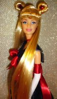 Sailor Moon barbie doll by dakotassong
