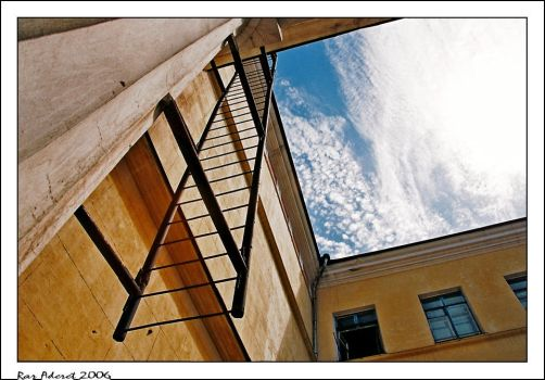 Reaching The Sky by Aderet
