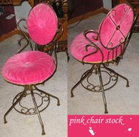 pink chair stock by carro-stalk