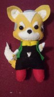 Fox McCloud Plushie (6 in) by TheForgottenPixel