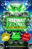 Freeway Fridays Flyer by AnotherBcreation