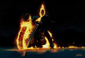 Ghost Rider by MightyGodOfThunder