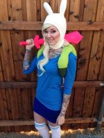 Fionna Cosplay from Adventure Time by glitzygeekgirl