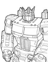 Optimus Prime preview by Optimus8404