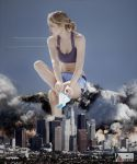 Giantesss Doutzen Kroes - Irritating Bugs by GiantessStudios101