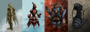 PERSONAJES by drull