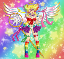 Rainbow Angel by izka197