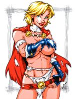 Savage Land Powergirl by gb2k