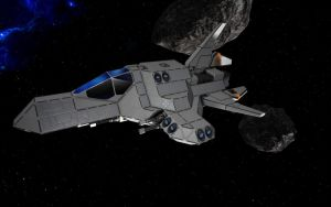 Space Engineers - Small Fighter by Shroomworks