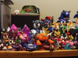 My Sonic Figure Collection 5.1 by DominicSega123