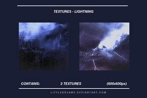 LIGHTNING TEXTURES by LittleDr3ams