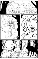 Red Sonja sequential work by ChibiCelina
