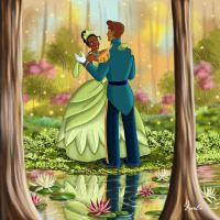 TIANA AND NAVEEN III VERSION 2 by FERNL