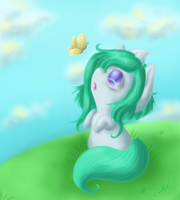 Chasing Butterflies by SpectralPony