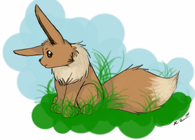 Eevee by gamergrl