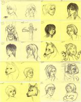 Post-It Doodles Page3 by leighanief
